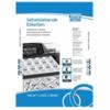 OFFICE TIP TOP samolepljive etikete TTO 070025 (Bele) 70 x 25.4 mm, 33, 100, Bela