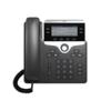 Cisco Telefonski sustav, VoIP Cisco Cisco IP Phone 7821-3PCC: - SIP, SRTP, 2 LC zaslon Crna, Srebrna
