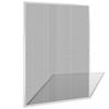 VIDAXL mreža proti insektom za okna (120x140cm), bela