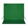 VIDAXL zeleno fotografsko ozadje 300xcm chroma key
