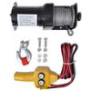 VIDAXL električni vitel 907 KG + daljinski upravljalnik