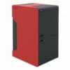 ALFA PLAM kotao Wood 50  crvena/crna, 50 kW