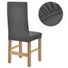 VIDAXL raztegljiva prevleka za stol (poliester), 6 kosov