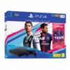 SONY konzola PLAYSTATION 4 SLIM 1TB + FIFA 19 CHAMPIONS EDITION - PS4, 1 kontroler, Crna