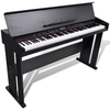 vidaXL Električni klavir s držačem za note, 88 tipki