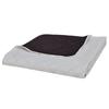 VIDAXL dvostransko prešito posteljno pregrinjalo (220x240cm), bež-rjavo