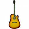 WAKERTONE akustična ozvučena gitara - W12C-SB EQ