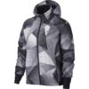 Nike W NK SHLD JKT HD PR FL, ženska tekaška jakna, črna