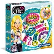 Clementoni Crazy Chic Wow Set za pravljenje narukvica CL18506