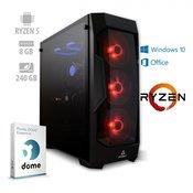 mimovrste=) AMD Performance Pro namizni računalnik (ATPII-PF7G-7782) + 1 leto Office 365 Personal