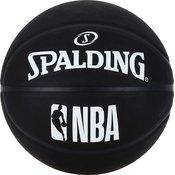 Spalding NBA BLACK OUT, lopta za košarku, crna 83-969Z