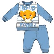 Disney by Arnetta Levji kralj fantovska pižama, siva, 80