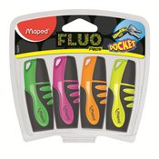 MAPED SIGNIR MINI FLUO PEPS 1/4