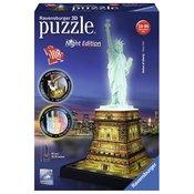 Ravensburger 3D puzzle (slagalice) Statua Slobode nocno izdanje RA12596