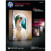 CR676A - HP Premium Plus Glossy Photo Paper, 300 gsm, 20 listova, 13 x 18 cm