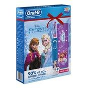 Oral B Vitality Kids 3+ Frozen električna četkica za zube (+ etui) za djecu za djecu