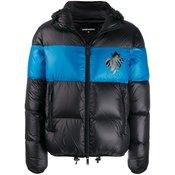 Dsquared2 - leaf print padded jacket - men - Black