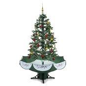 ONECONCEPT božično drevo Everwhite-BK (180cm), (simulacija snega), zeleno