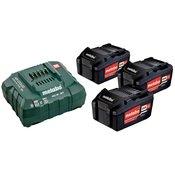 METABO Baterijski paket (3x4.0 Ah) + polnilec