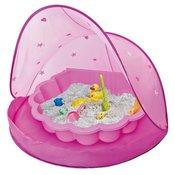 Paradiso šotor s peskovnikom/bazenom, roza