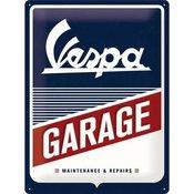 Postershop plastična ploča s natpisom: Vespa Garage