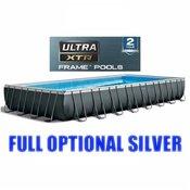 Bazen Intex Ultra Metal 975 x 488 x 132 cm s filtrom na pijesak, New Technology XTR 2019 + FULL OPTIONAL SILVER