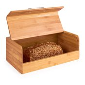 KLARSTEIN posoda za kruh s kovinskim ročajem Basket No. 9 Bamboo 7 L