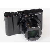 PANASONIC kompaktni fotoaparat Lumix DMC-LX15, črn