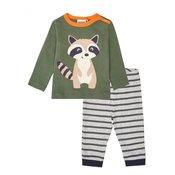 WINKIKI fantovska pižama, 98, khaki/gray melange