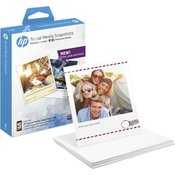 W2G60A - HP Social Media Snapshots, 25 sheets, 10x13cm