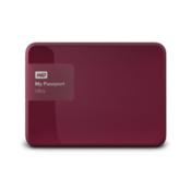 WD zunanji disk My Passport Ultra 2TB (WDBBKD0020BBY), rdeč