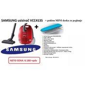 SAMSUNG usisivac VCC4135S3RBOL, 1600W+ poklon daska za peglanje