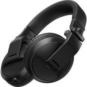 PIONEER DJ bežicne slušalice HDJ-X5BT-K (Crne)  Standardne, 5Hz - 30kHz, Bluetooth + 3.5mm + 6.3mm (adapter), Crna