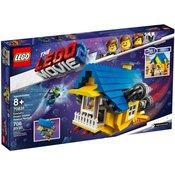 LEGO Movie Emmetova sanjska hiša/rešilna raketa (70831)