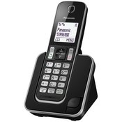 bežicni telefon PANASONIC KX-TGD 310FXB - CRNI