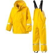 Mckinley Set Eddie Jrs + Abb, decji komplet za planinarenje (kišni), žuta