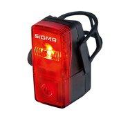 Sigma Stražnje svjetlo za bicikl Sigma CUBIC baterijski pogon Crvena, Crna
