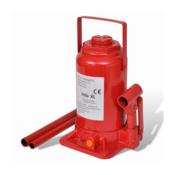 VIDAXL hidraulicna dizalica za auto 20 tona crvena