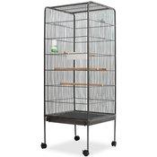 VIDAXL celicni kavez za ptice 54x54x146 cm
