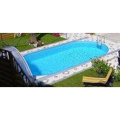 STEINBACH bazen Styria Pool Set Oval (737x360x150cm)
