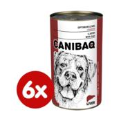 Dibaq hrana za pse CANIBAQ Classic jetrica, 10x1250 g