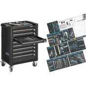 Hazet Kolica za alat Assistent 179-8 sa 300-dijelnim AUDI sortimentom Hazet 179-8-RAL7021/300