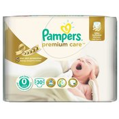 Pampers pelene Premium Care 0 Newborn, 30 kom