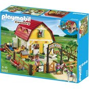 PLAYMOBIL otroška kmetija s poniji 5222