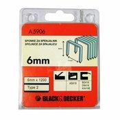 SPONKE BLACK&DECKER 6 mm/1200, A5906