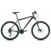 Capriolo bicikl MTB LEVEL 7.3 27,5/24AL black-graphite-red