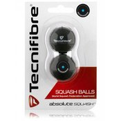 Absolute squash žogice Tecnifibre 2 pack - modra pika
