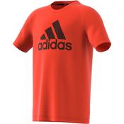 ADIDAS YB TR PRIME TEE, decja majica za fitnes, narandžasta