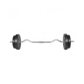 VIDAXL Curl uteži 30kg