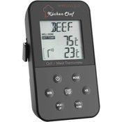 TFA TFA 14.1504 termometer za žar Kabelski senzor , Alarm , S časovnikom , Spremljanje temperature jedra Pečenje pri nižji temperatu